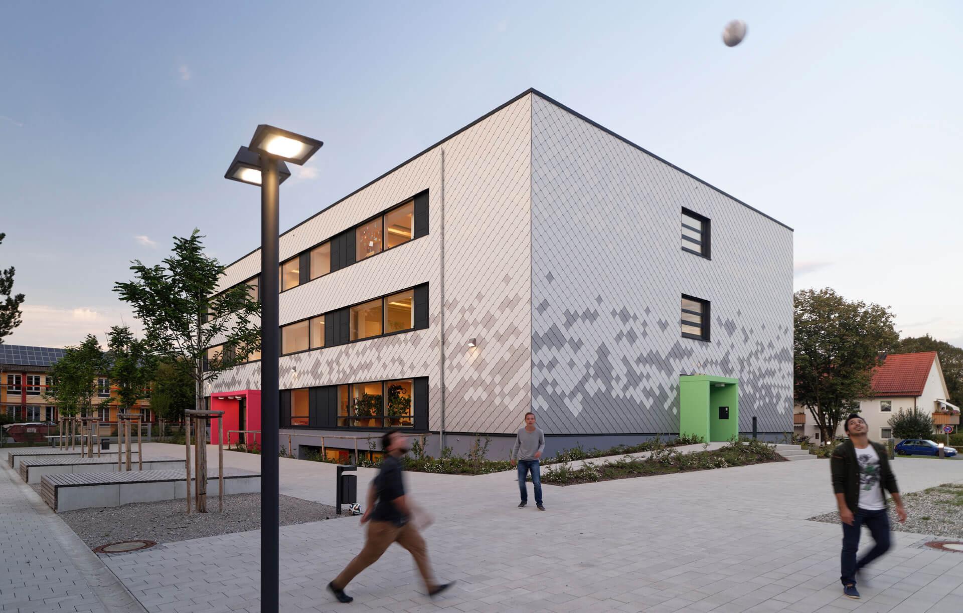 Generalsanierung Der Mittelschule Peissenberg G O Architekten